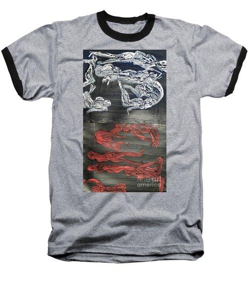 Red Strangles White Cells Baseball T-Shirt