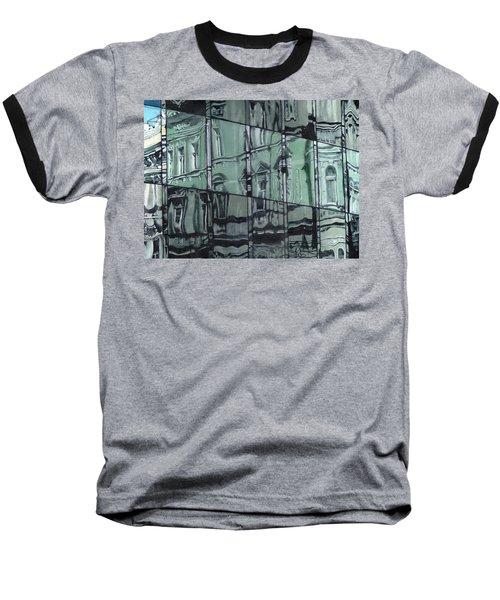Reflection On Modern Architecture Baseball T-Shirt