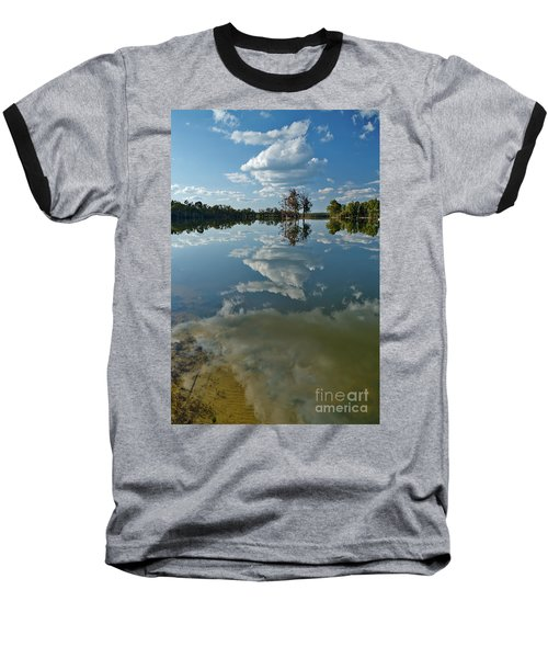 Reflections By The Lake Baseball T-Shirt