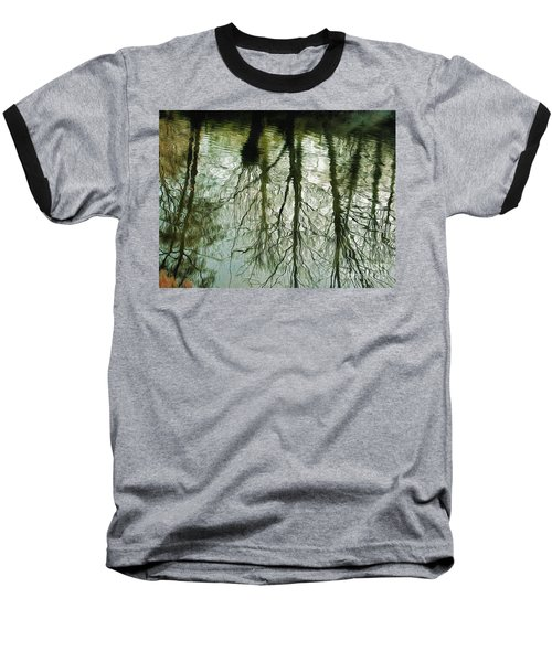 Baseball T-Shirt featuring the photograph Reflections by Leigh Kemp