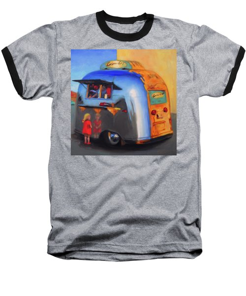 Reflections On An Airstream Baseball T-Shirt