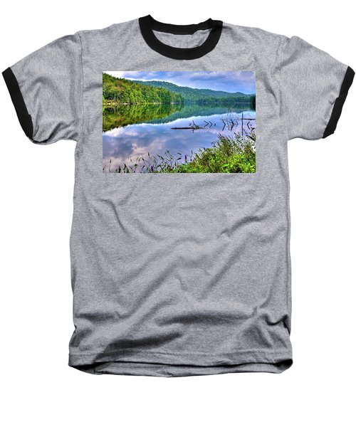 Baseball T-Shirt featuring the photograph Reflections On Sis Lake by David Patterson