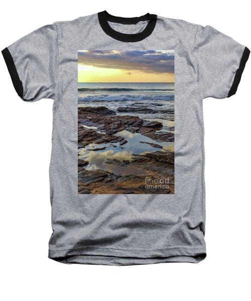 Reflections On The Rocks Baseball T-Shirt