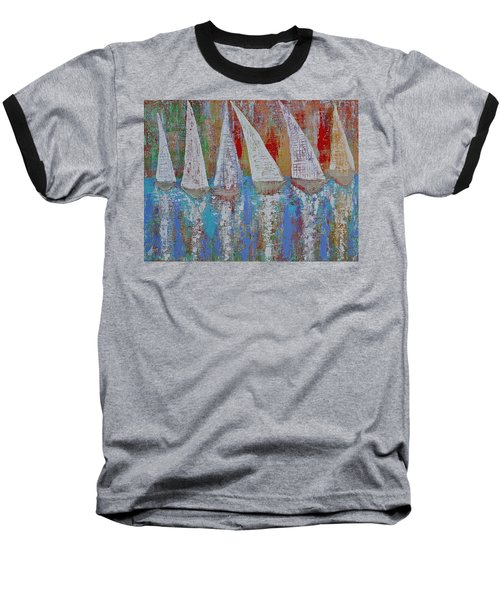 Regatta Original Painting Baseball T-Shirt