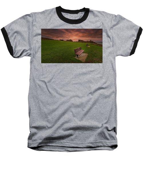 Relaxing At St Ives Cornwall Baseball T-Shirt