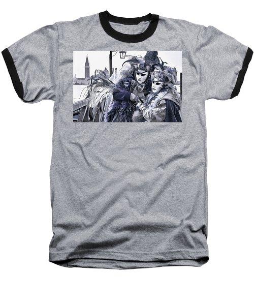 Revelry In Venice Baseball T-Shirt