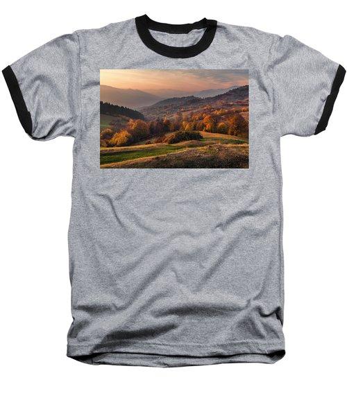 Rhodopean Landscape Baseball T-Shirt