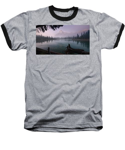 Rising From The Fog Baseball T-Shirt