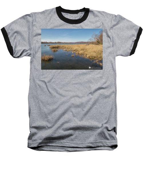 River Grass Baseball T-Shirt
