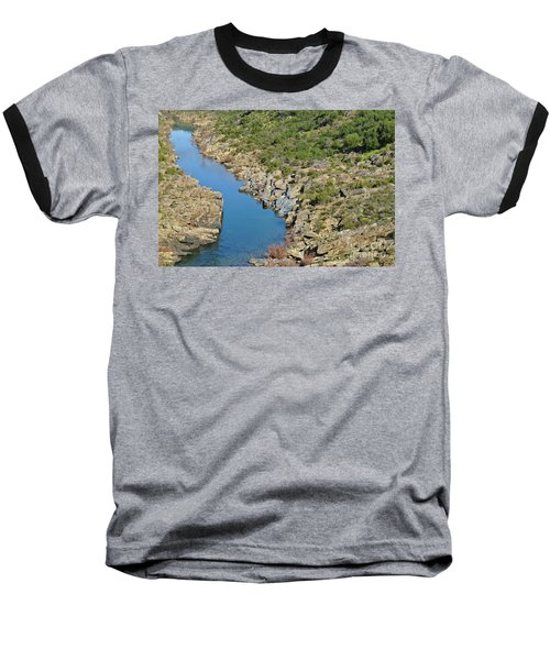 River On The Rocks. Color Version Baseball T-Shirt