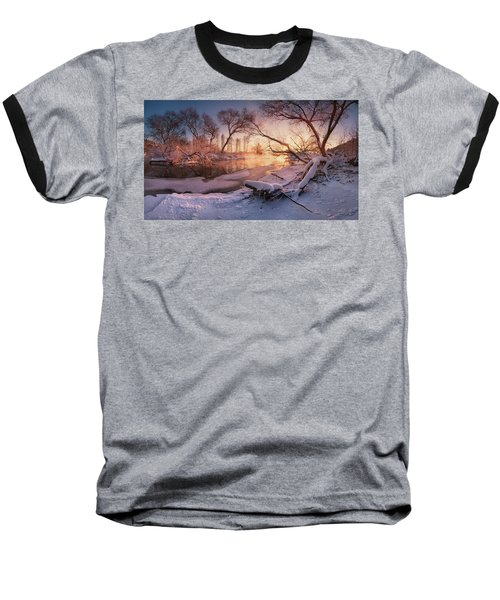River Portraiture In Evening Light Baseball T-Shirt