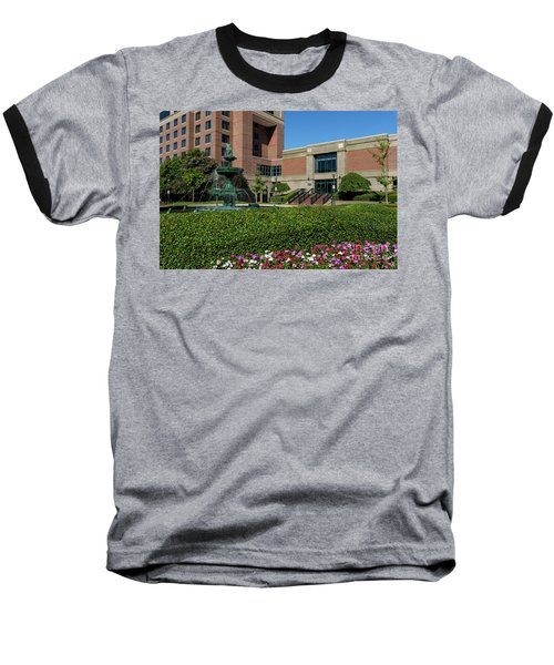 Riverwalk Augusta Ga Fountain Baseball T-Shirt