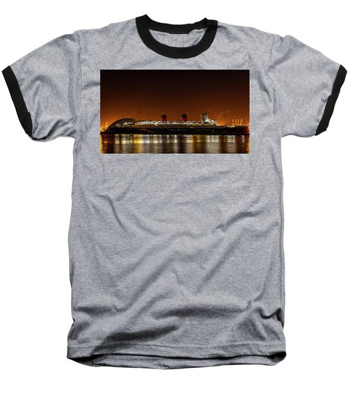 Rms Queen Mary Baseball T-Shirt