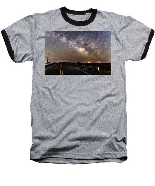 Road To Milky Way Baseball T-Shirt
