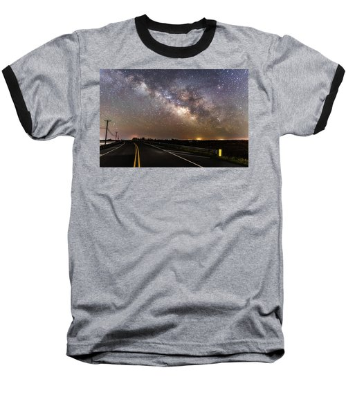 Road To Milky Way Baseball T-Shirt
