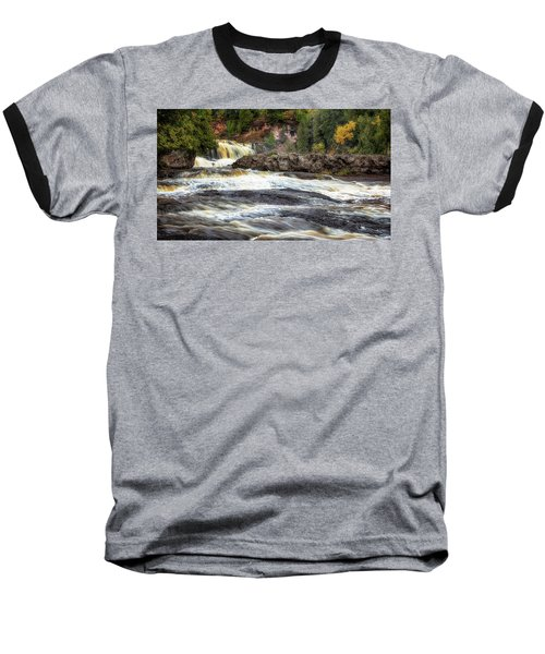 Roaring Gooseberry Falls Baseball T-Shirt