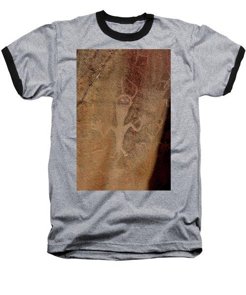Rock Art Baseball T-Shirt