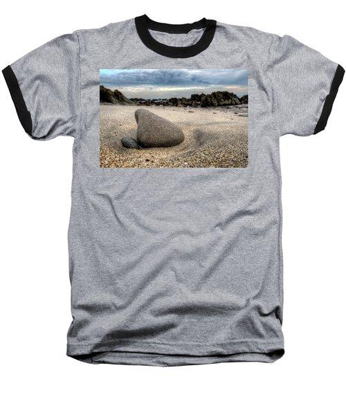 Rock On Beach Baseball T-Shirt