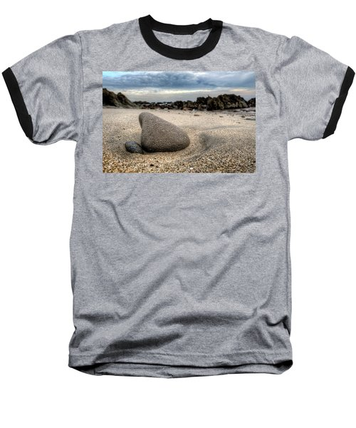 Rock On Beach Baseball T-Shirt