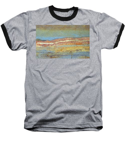 Rock Stain Abstract 3 Baseball T-Shirt