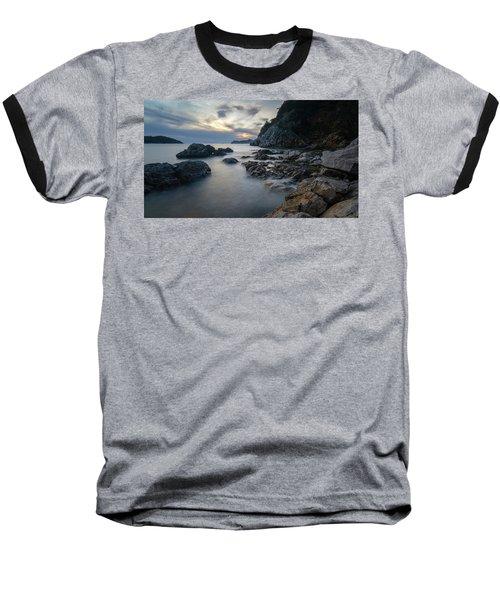 Rocky Coast Near Dubrovnik Baseball T-Shirt