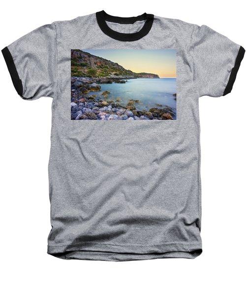 Rocky Coast Near Monemvasia Baseball T-Shirt