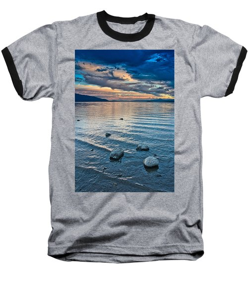 Rocky Lake Vista Baseball T-Shirt