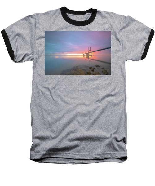 Baseball T-Shirt featuring the photograph Rocky Lisbon by Bruno Rosa