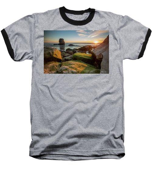 Rocky Pismo Sunset Baseball T-Shirt
