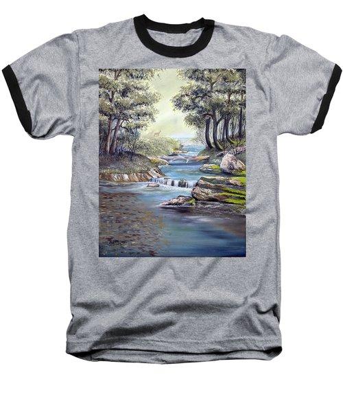 Rocky Stream Baseball T-Shirt