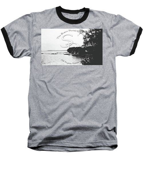 Rohr's Dock, Boston Harbor, 1932 Baseball T-Shirt