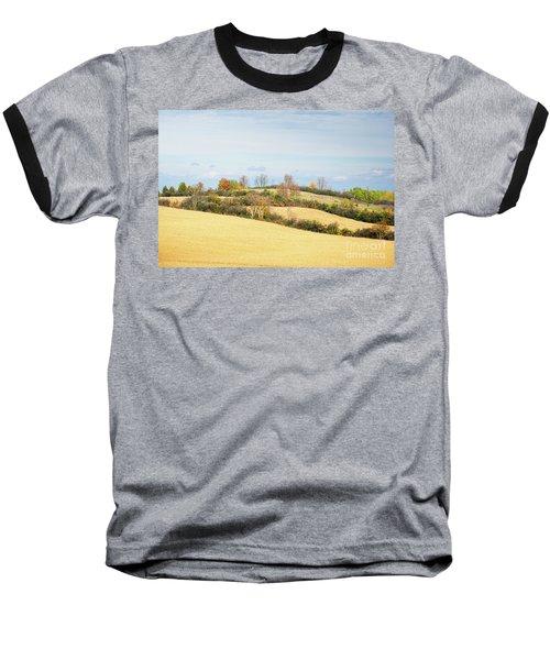 Rolling Hills In Fall Baseball T-Shirt