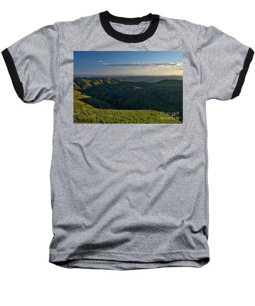 Rolling Mountain - Algarve Baseball T-Shirt