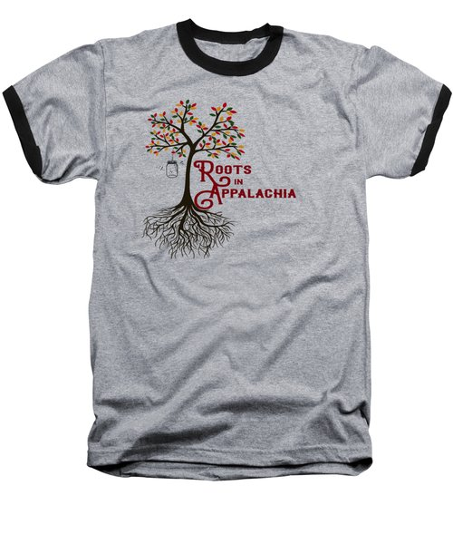 Roots In Appalachia Lightning Bugs Baseball T-Shirt