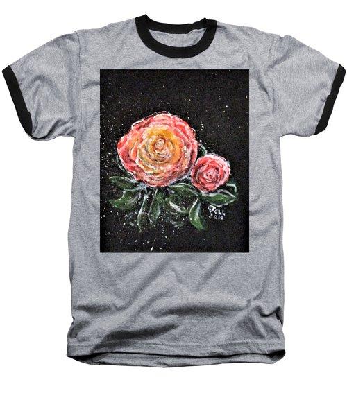 Rose In Light Baseball T-Shirt
