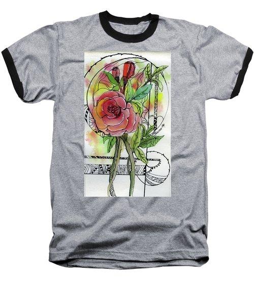 Rose Is Rose Baseball T-Shirt