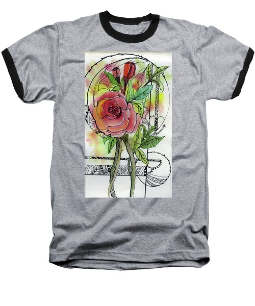 Rose Is Rose Baseball T-Shirt