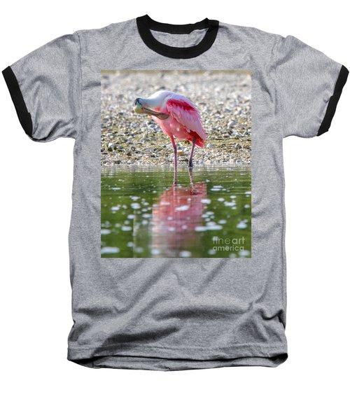 Roseate Spoonbil Baseball T-Shirt
