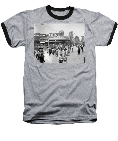 Rosemary Theater Santa Monica Baseball T-Shirt