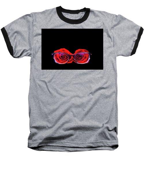 Rosy Vision Baseball T-Shirt