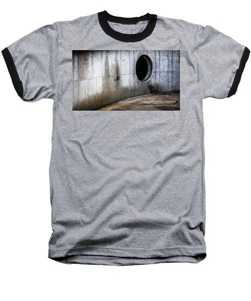 Round Window Baseball T-Shirt