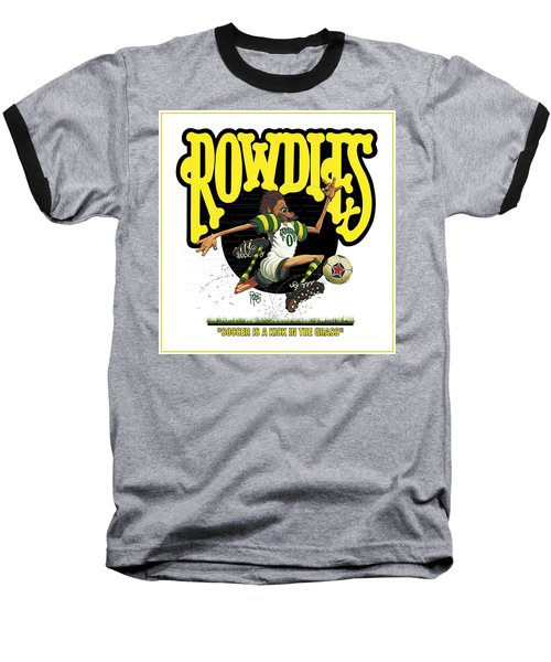 Rowdies Old School Baseball T-Shirt