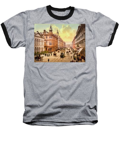 Royal Avenue In Belfast Baseball T-Shirt