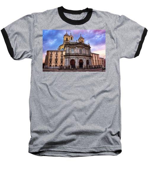 Royal Basilica Of San Francisco El Grande Baseball T-Shirt