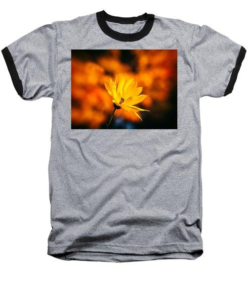 Rudbeckia Grandiflora 3 Baseball T-Shirt