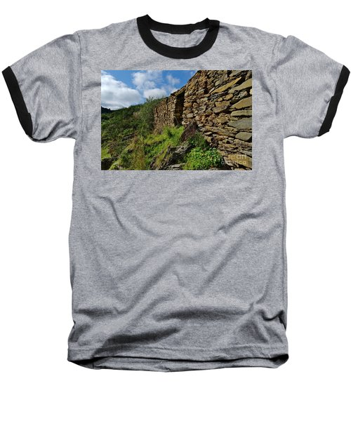 Ruins Of A Schist Cottage In Alentejo Baseball T-Shirt