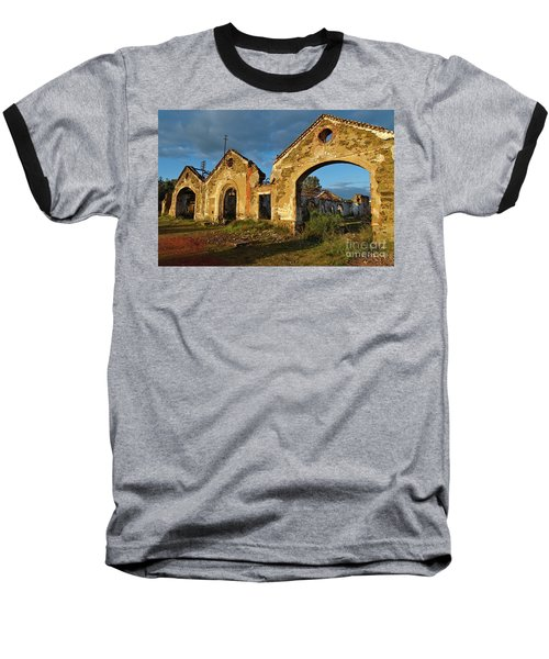 Ruins Of The Abandoned Mine Of Sao Domingos. Portugal Baseball T-Shirt