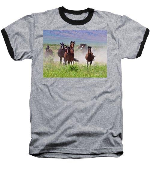 Running Together Baseball T-Shirt