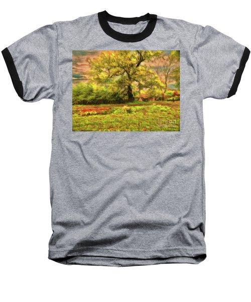 Baseball T-Shirt featuring the photograph Rural Rustic by Leigh Kemp