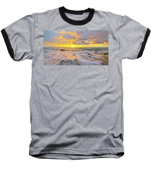 Rushing Surf Baseball T-Shirt